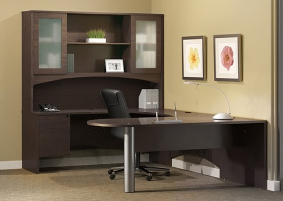 Brighton Executive Office Desk Typical by Mayline