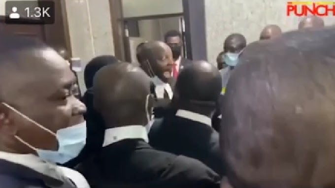 KANU's trial - Panic as Lawyers denied access to court (video)