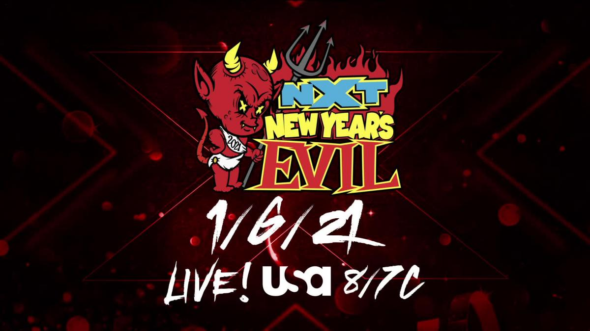 WWE remove importante combate do NXT New Year's Evil