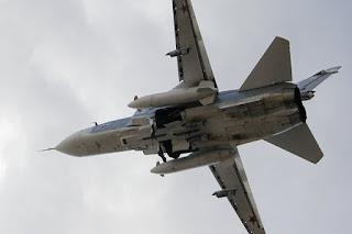 Jet Tempur Su-24 Rusia