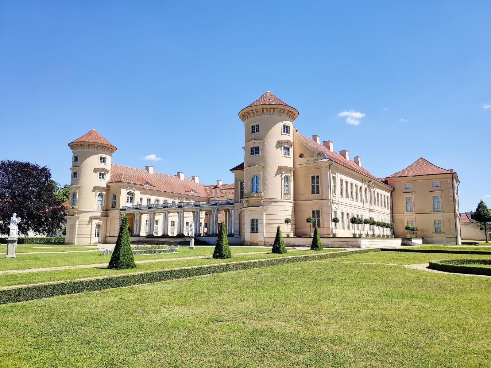 Schloss Rheinsberg mit Kindern erkunden