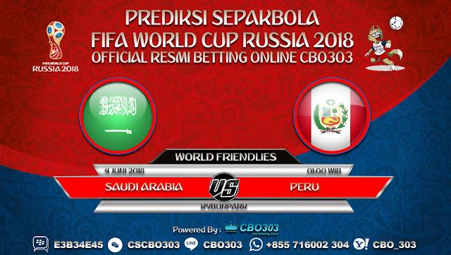 Prediksi Bola Saudi Arabia VS Peru 04 Juni 2018