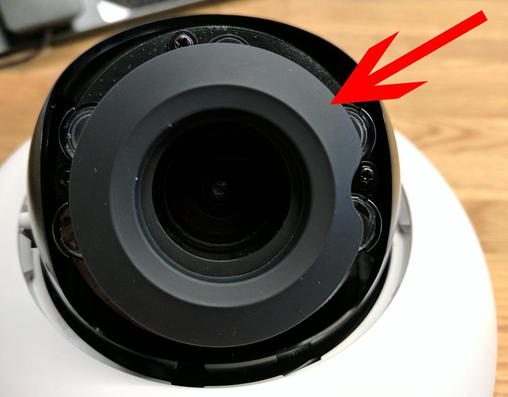 Bright spots cctv security camera