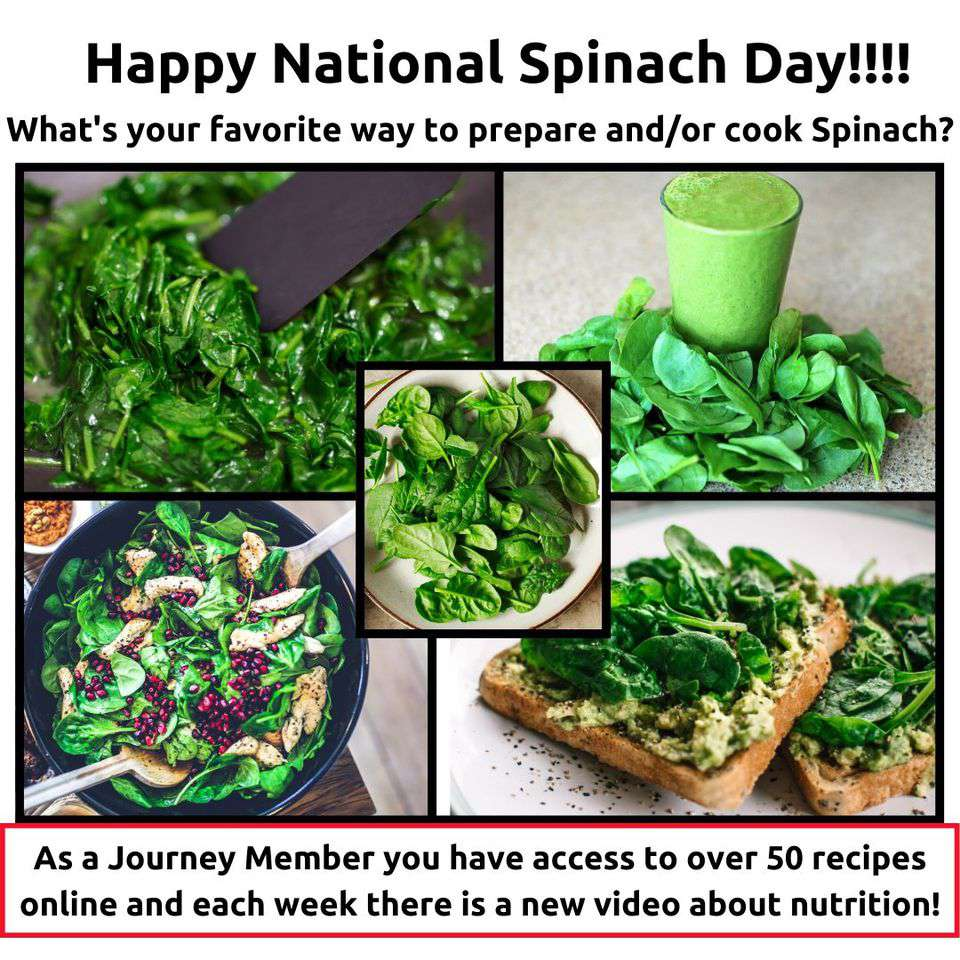 National Spinach Day Wishes Images