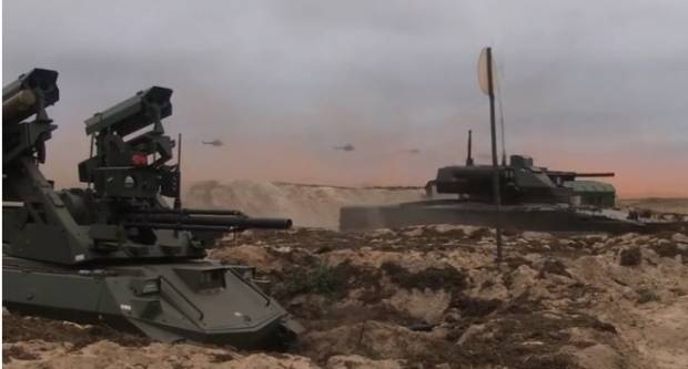 Rusia Pamer Robot Tempur Pembunuh Tank dalam Latihan Perang Zapad 2021