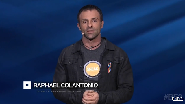 Raphael Colantonio Bethesda E3 2016 Dishonored Arkane Studios