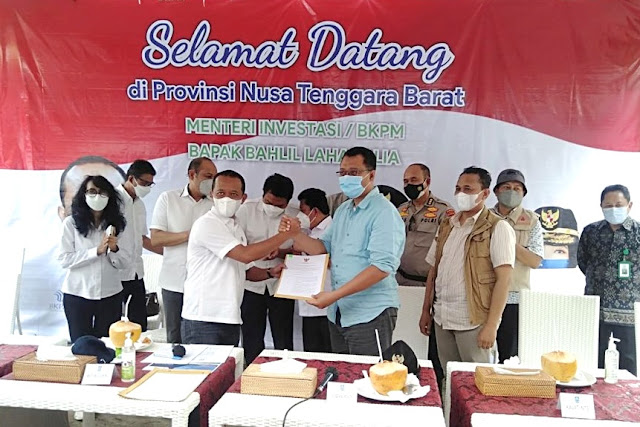 Menteri Investasi putus kontrak PT Gili Trawangan Indah