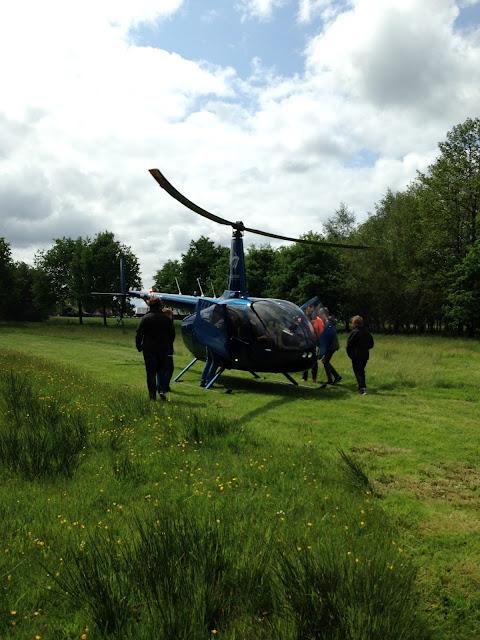 Helikopter met bemanning