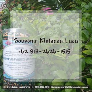 Souvenir Khitanan Lucu Murah Meriah   +62 813-2666-1515