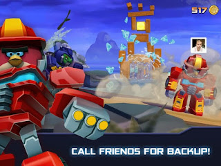 angry birds transformers unlimited coins and gems apk
