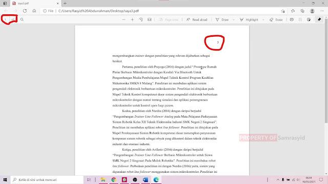 Cara Print Halaman tertentu di Microsoft Word