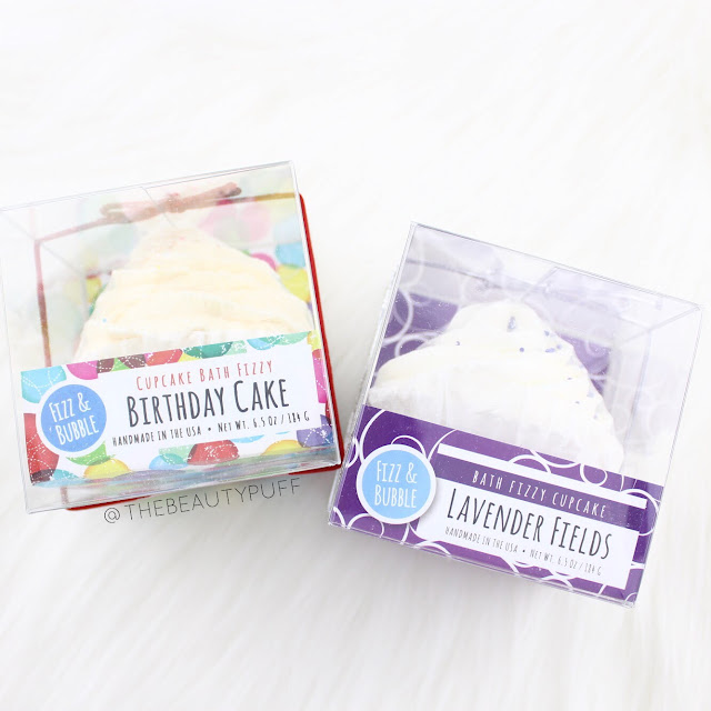 Fizz and Bubble Cupcake Bath Fizzies  |  The Beauty Puff