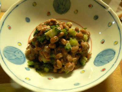 ゴーヤ納豆