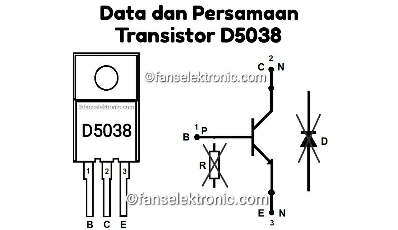 Persamaan Transistor D5038