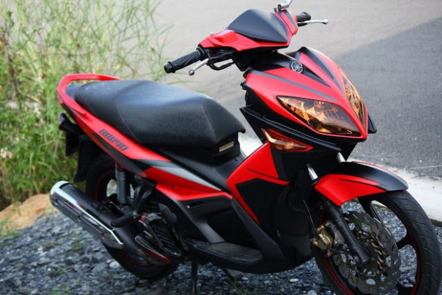 Yamaha Nouvo LX phối màu đỏ đen cực đẹp