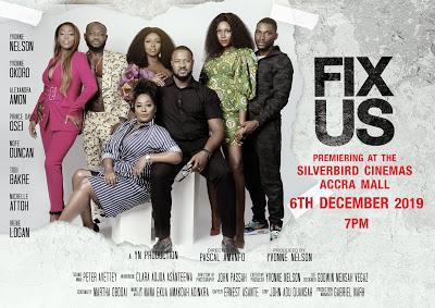 "Yvonne Nelson Premieres ""Fix Us"" On December 6"