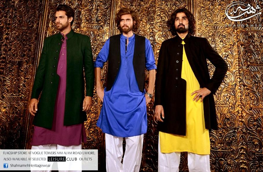 Shahnameh Heritagewear 2012-13 For Men | New Formal Wear