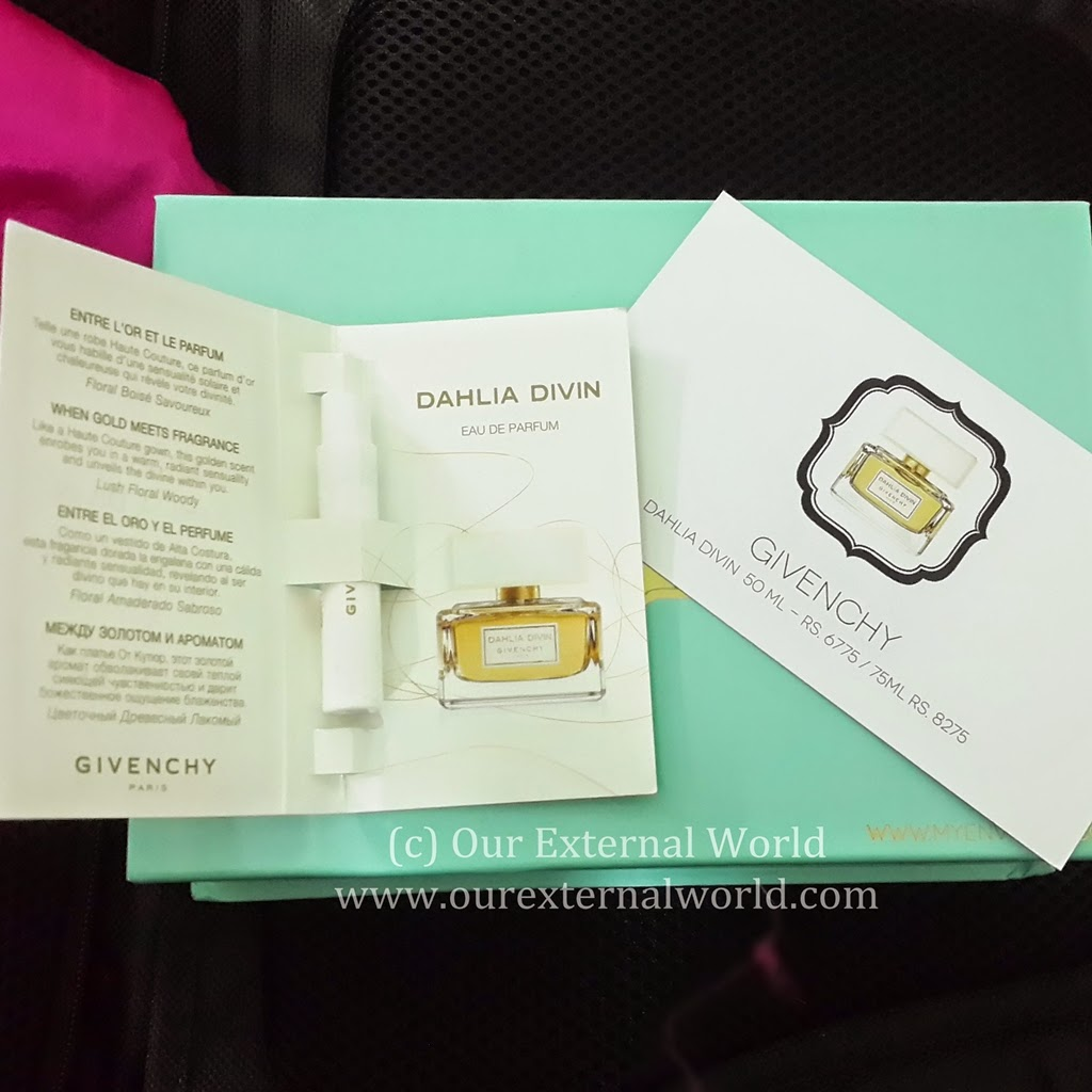 Unboxing: My Envy Box March 2015 Review, discount code, Givenchy Dahlia Divin