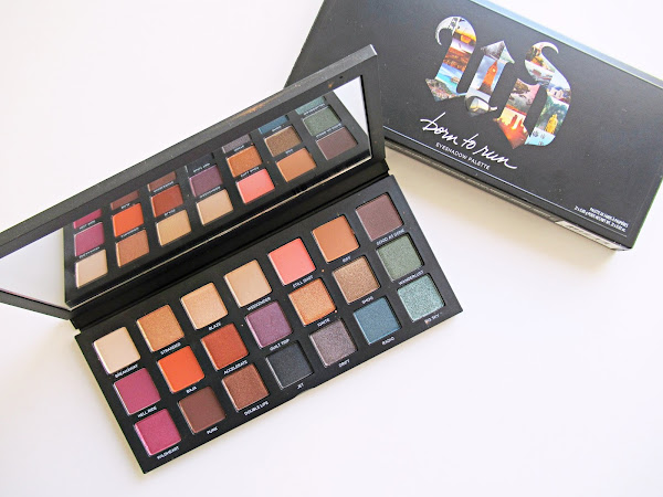 Reseña: Paleta Born to run de Urban Decay