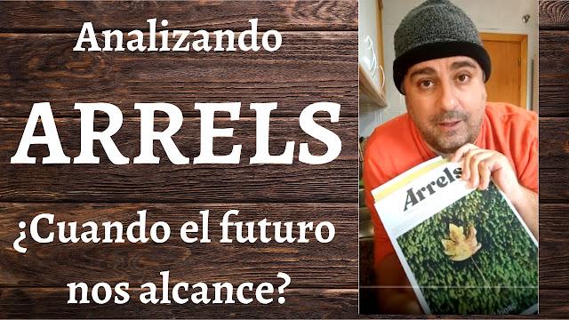 Oscar Gómez reflexionando sobre la revista Arrels y su ecosistema