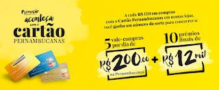Promoção Aconteça com o Cartão Pernambucanas