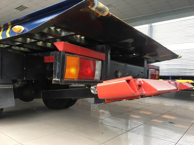 Cần kéo xe cứu hộ HD120sl sàn trượt