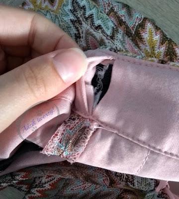 Jak dopasować za luźne spodnie w pasie DIY - Adzik tworzy