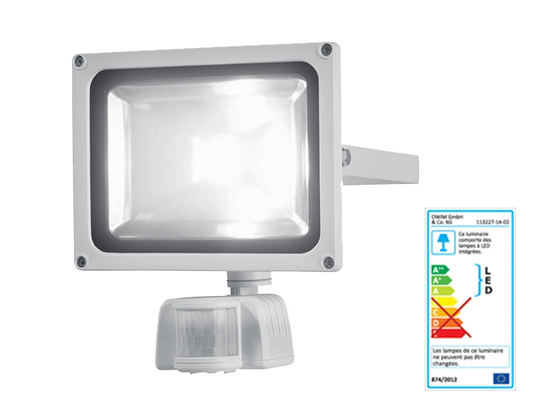 Projecteur led avec d tecteur de mouvement lidl avis sur les produits - Reglage detecteur de mouvement ...