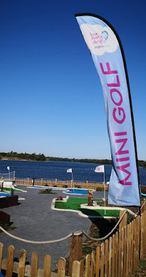 Alton Water Mini Golf in Ipswich. Photo by Christopher Gottfried