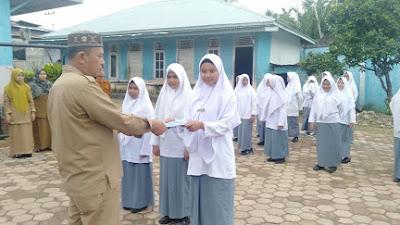 Zamiga ISlamic Boarding School Lantik Pengurus OSIS dan OSPEZA
