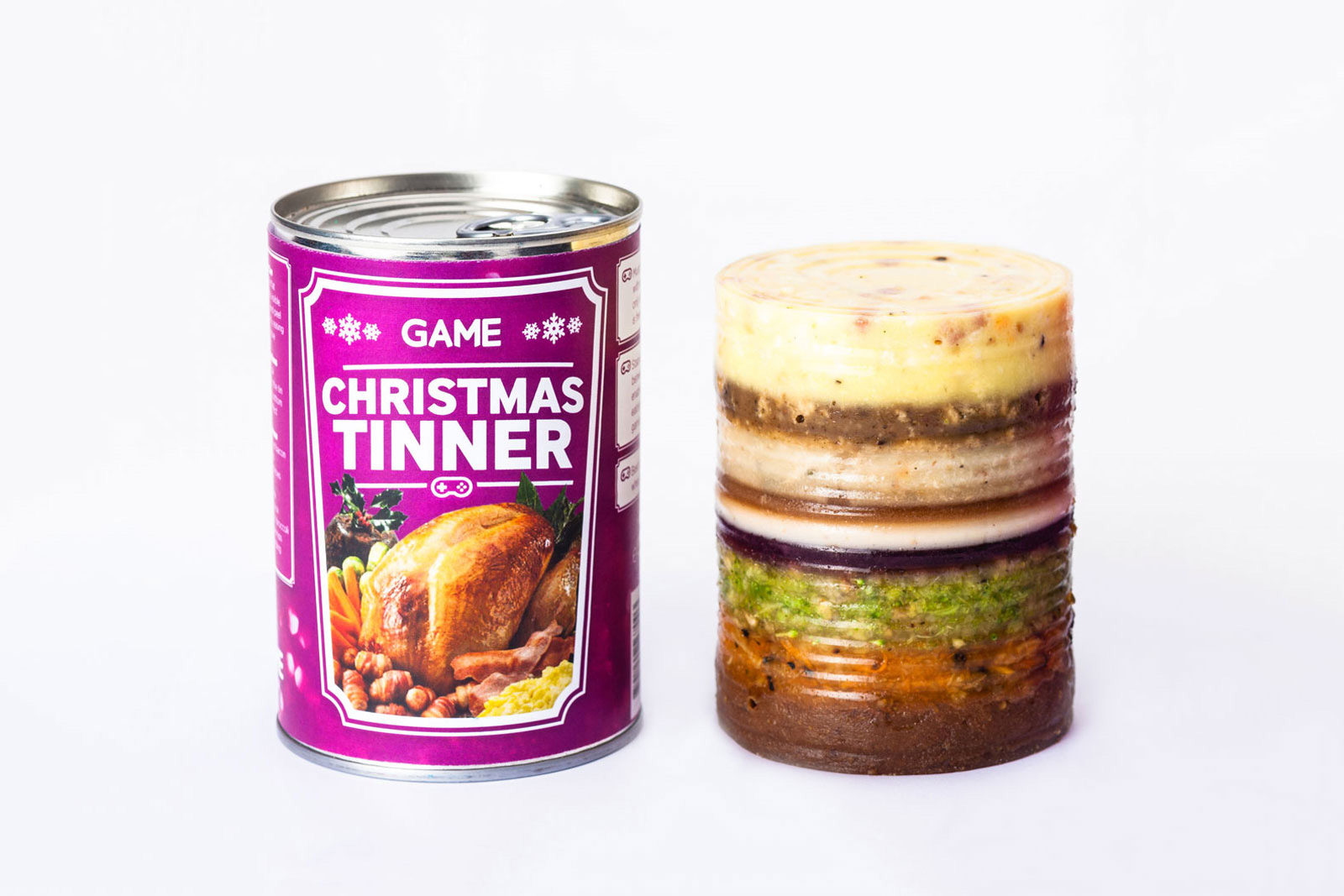 Christmas Tinner von Chris Godfrey - Xmas Dinner für Gamer