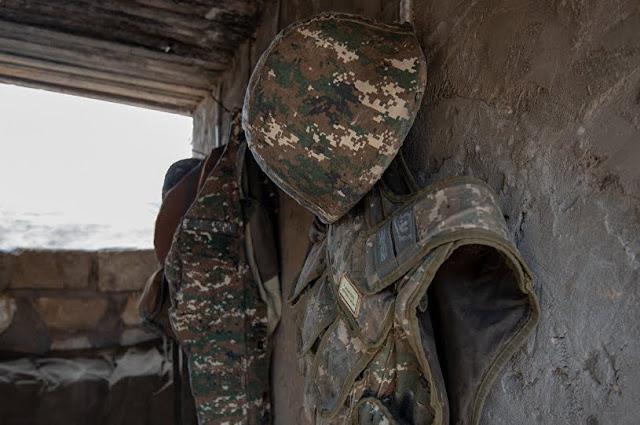 Soldado de 19 años murió de disparos enemigos en Artsaj