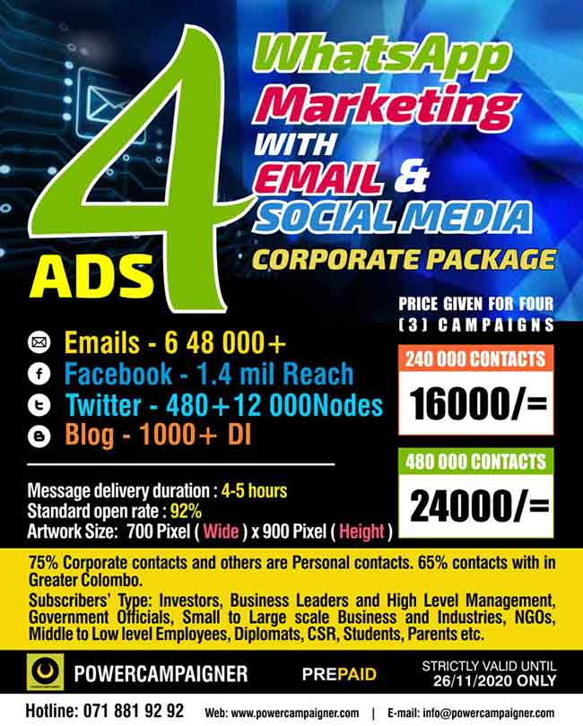 WhatsApp Marketing - Corporate Package