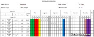 Promes Matematika Kelas 9 Kurikulum 2013 Revisi Terbaru