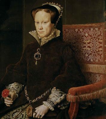 Η Μαρία Α΄ της Αγγλίας το 1554