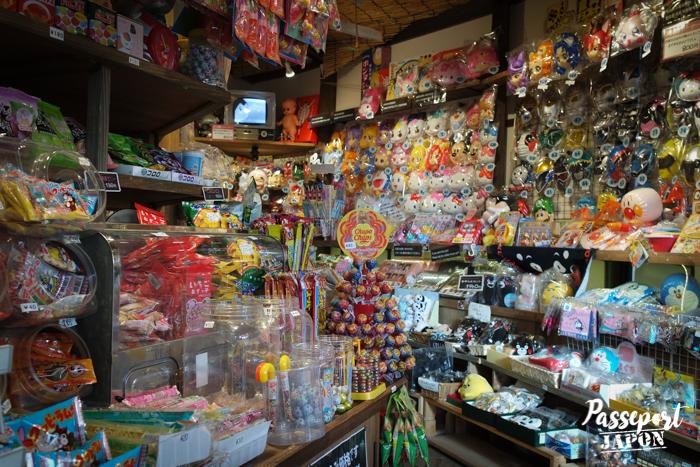 Magasin de bonbons, musée Showakan, Yufuin