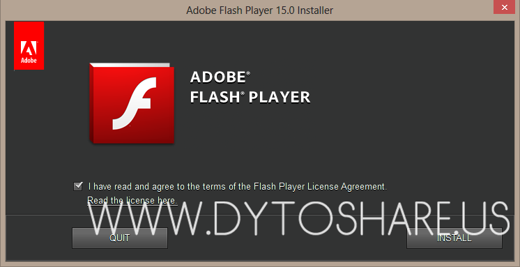 Flash Player 15