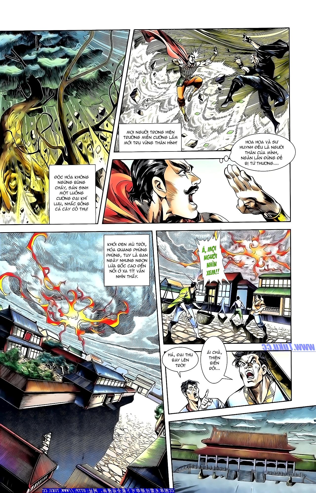 Cơ Phát Khai Chu Bản chapter 151 trang 6