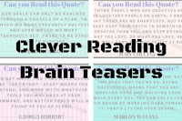 Clever Reading Brain Teasers