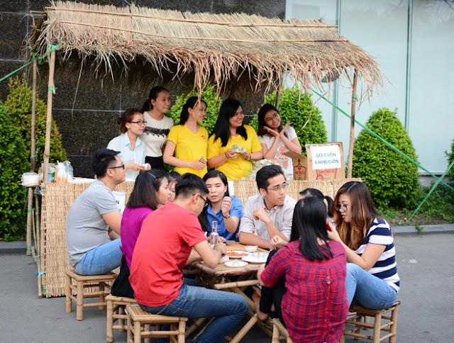 Cán Bộ CNV FPT Hồ Chí Minh Nô Nức Tham Gia Hội Làng 11