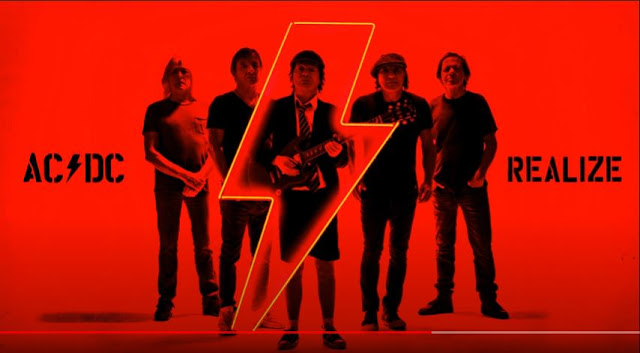 AC/DC Realize from Power Up Album