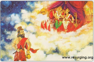 Bhrigu Muni Testing Lord Brahma