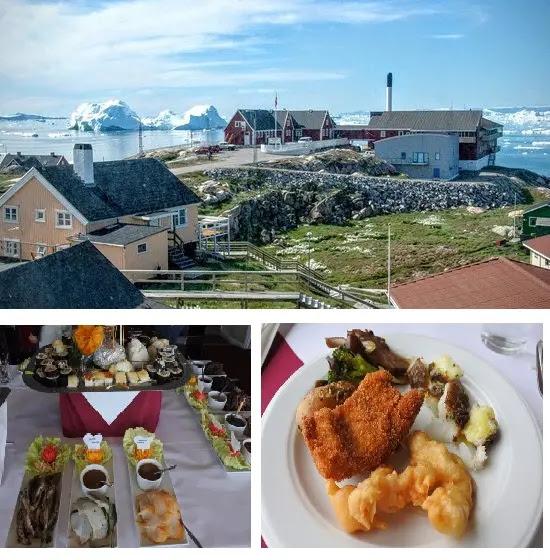 hotel Hvide Falk, Ilulissat, Greenland