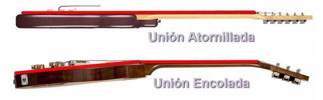 Diferencias entre una Unión Atornillada y Encolada en Guitarra Eléctrica