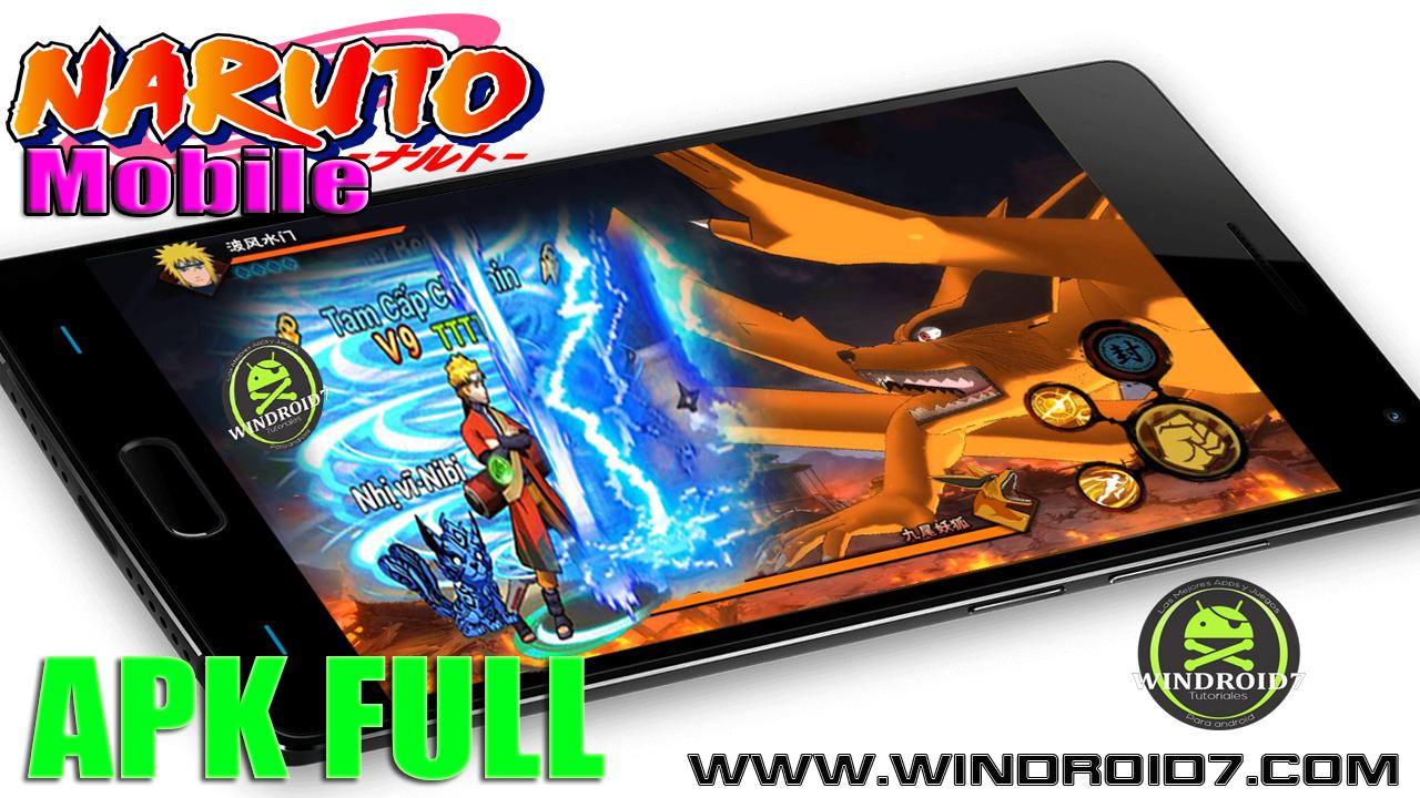 Naruto Mobile v1 16 9 3 Apk Free [ACTUALIZADO] - Salas Android