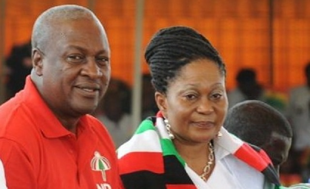 I'm blessed to have Lordina - Prez. John Mahama