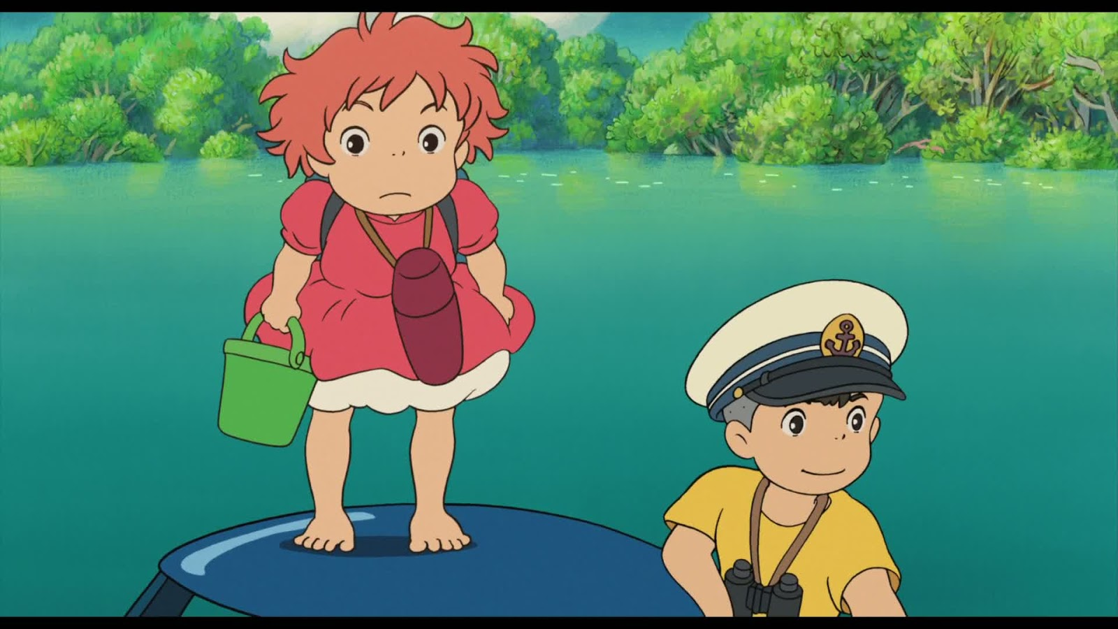 780. Ponyo mäe otsas (崖の上のポニ/Ponyo on the cliff by the sea ...