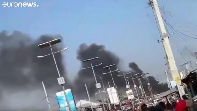 Explosão de carro bomba na Somália