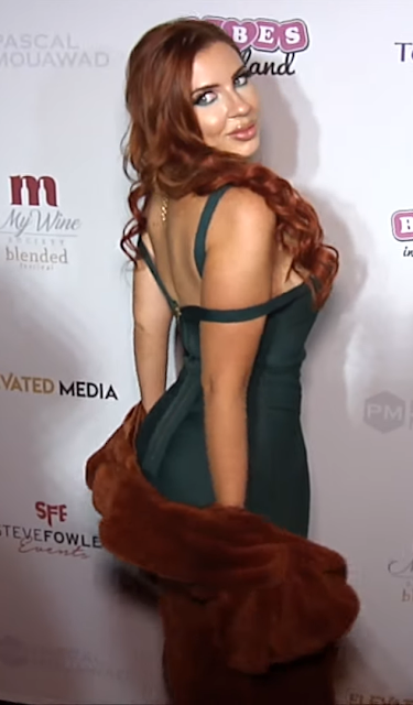 Model Amanda Nicole Hot Photoshoot At 2019 Babes in Toyland LA Toy Drive Red Carpet Fashion Actress Trend