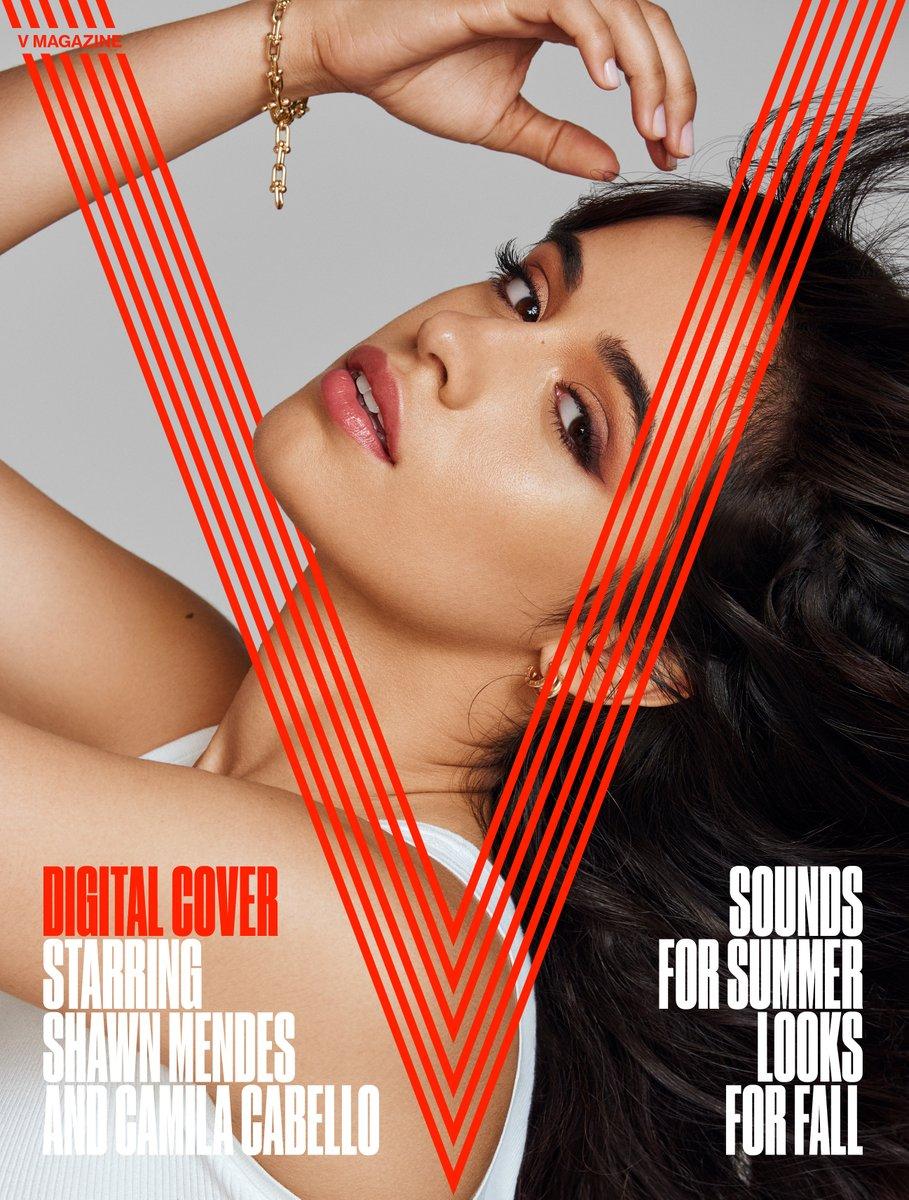 Camila Cabello sizzles for v magazine